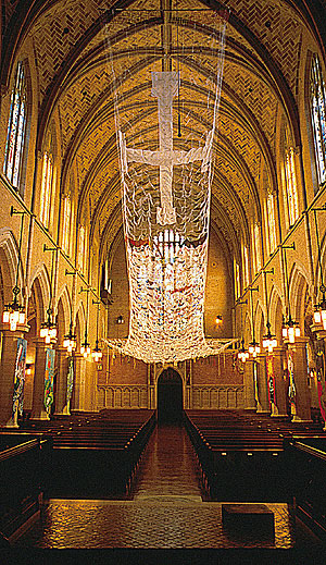 Prayers of the People. St. Mark's Episcopal Cathedral, Minneapolis, MN. Copyright ©Nancy Chinn, 1993